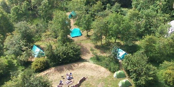 Pill Farm Camp Aerial View